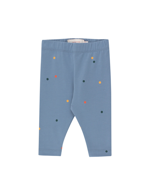 [TINY COTTONS]  ICE CREAM DOTS BABY PANT _ grey blue