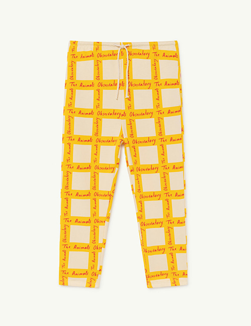 [T.A.O]  DROMEDARY KIDS TROUSERS _ White Squares