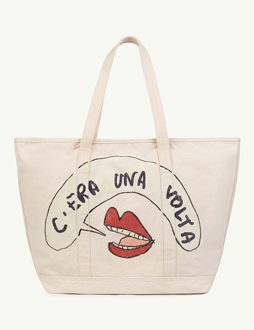 [T.A.O]  TOTE BAG ONESIZE BAG _ White Mouth
