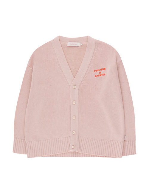[TINY COTTONS]  YOUR WISH IS GRANTED CARDIGAN _ dusty pink