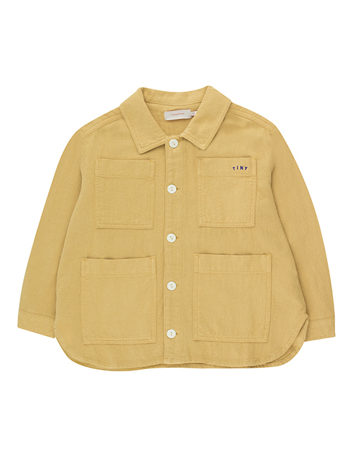 [TINY COTTONS]  SOLID JACKET _ sand